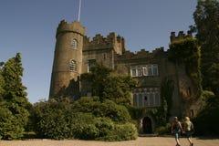 有历史的城堡 免版税库存图片