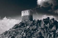 有历史的堡垒 免版税库存照片