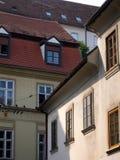 有历史的大厦 免版税库存图片