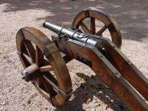 有历史的大炮 免版税库存照片