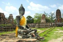 有历史的寺庙 免版税库存图片