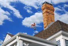 有历史的屋顶 免版税库存照片