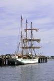有历史的帆船 库存图片