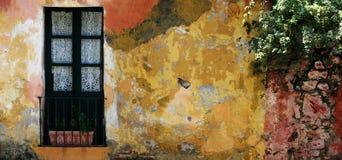 有历史的房子乌拉圭 库存照片