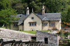有历史的房子石头 免版税库存图片