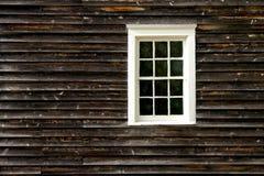 有历史的房子老墙壁视窗 库存照片