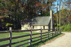 有历史的房子 免版税库存照片