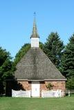 有历史的教会 免版税库存图片