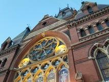 有历史的教堂 库存图片