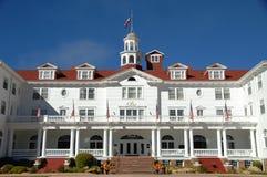 有历史的旅馆 免版税库存照片