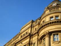 有历史的曼彻斯特站点 免版税库存照片