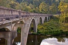 有历史的桥梁 库存图片
