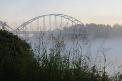 有历史的桥梁 库存照片