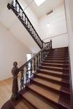 有历史的楼梯 库存图片