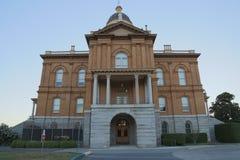 有历史的法院大楼 免版税库存图片