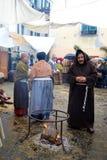 有历史的游行taggia 免版税图库摄影