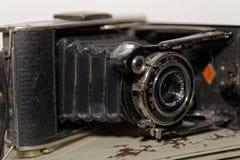 有历史的照相机 库存照片