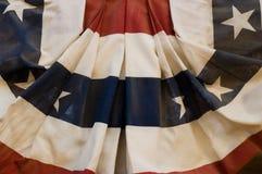 有历史的美国国旗 免版税库存照片