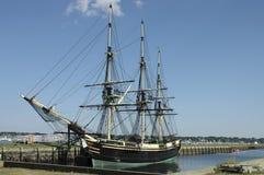 有历史的船 库存照片