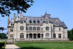 有历史的豪宅纽波特 免版税库存照片