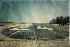 有历史的跑道 免版税库存照片
