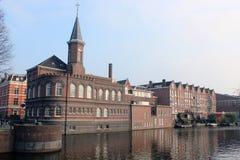 有历史的阿姆斯特丹 免版税库存图片