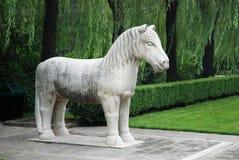 有历史的雕塑 免版税库存图片