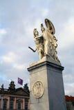 有历史的雕塑 免版税图库摄影