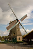 有历史的风车 免版税库存照片