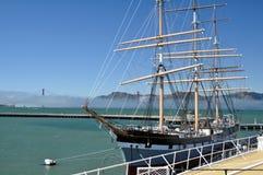 有历史的高船 免版税库存图片