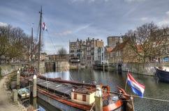 有历史的鹿特丹 免版税库存照片