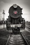 有历史的活动蒸汽 免版税库存图片