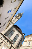 有历史的结构在萨尔茨堡 免版税库存图片