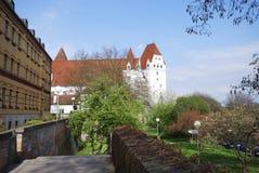 有历史的ingolstadt 库存照片