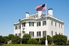 有历史的knox豪宅 免版税图库摄影