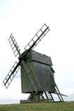 有历史的oland瑞典风车 库存图片