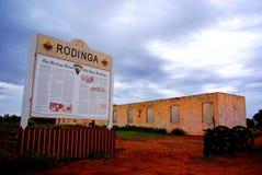 有历史的rodinga 免版税库存照片