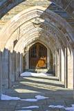 有历史被成拱形的入口 免版税库存图片