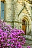 有历史19世纪的教会 免版税图库摄影