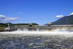 有历史2 bonneville的水坝 图库摄影