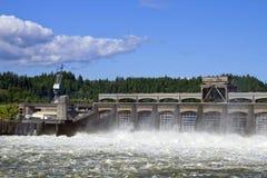 有历史3 bonneville的水坝 免版税库存图片