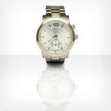 有反射的手表 免版税库存图片