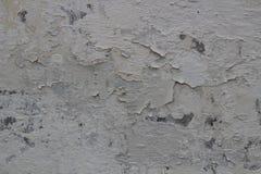 有发怒的油漆的破旧的墙壁 设计的纹理 免版税库存图片