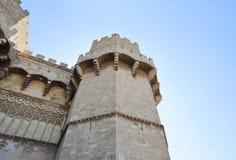 有古色古香的样式和老牌的历史堡垒 库存图片