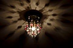 有启发性的灯在天花板 图库摄影