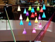 有启发性色的金字塔 库存图片