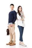 年轻有吸引力的亚洲夫妇 免版税库存照片