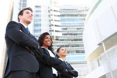 有吸引力的企业不同的小组 免版税库存照片