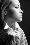 有吸引力的夫人年轻人 图库摄影