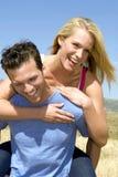 有吸引力的夫妇年轻人 库存照片